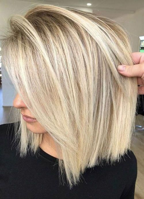 Cute Blonde Hairstyle Best Pics Of Short Straight Blonde Hair Shortstraighthair In 2020 Hair Styles Straight Blonde Hair Cute Blonde Hair