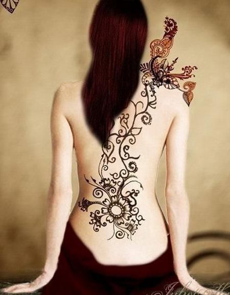 Detailed Tattoos Designs For Girls