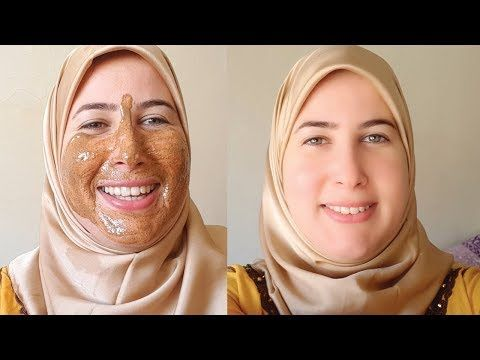 قولي وداعا لحبوب الوجه ماسك بمكونين فقط Youtube Fashion Hijab
