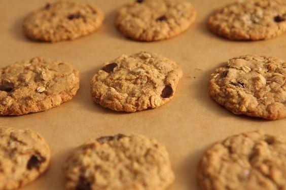 Daphne's Chocolate Oatmeal Cookies