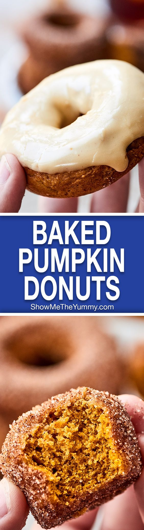 Donut recipes, Baked pumpkin and Donuts on Pinterest