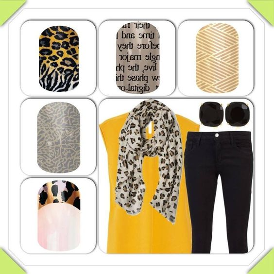 I love the upper right hand corner one.  What about you?  http://janellebixler.jamberrynails.net