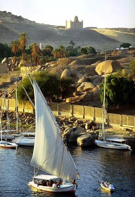 Lago Nasser, Egipto