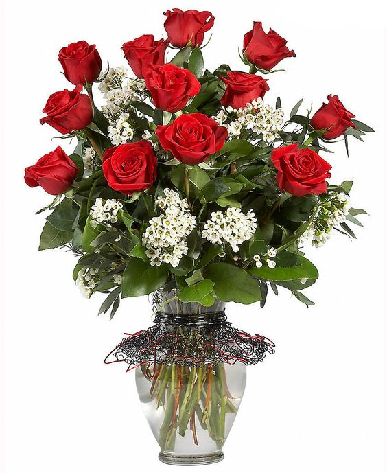 Красивая ваза: