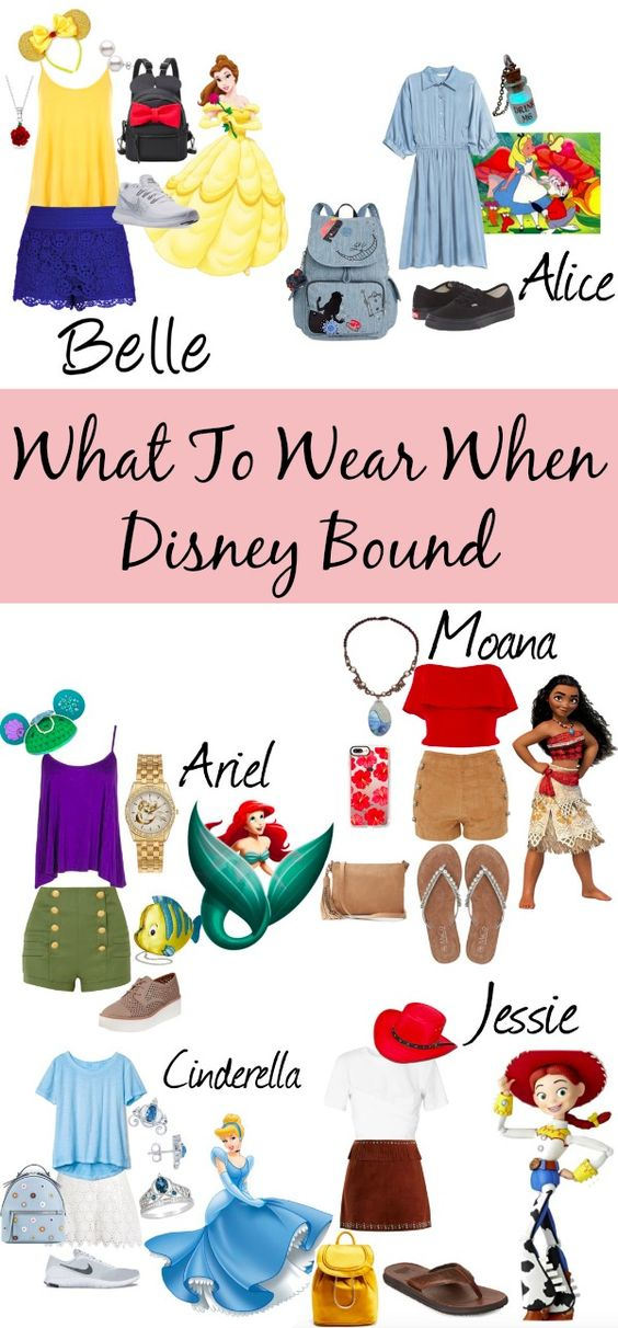 What To Wear When Disney Bound - They Call Me T | They Call Me T
