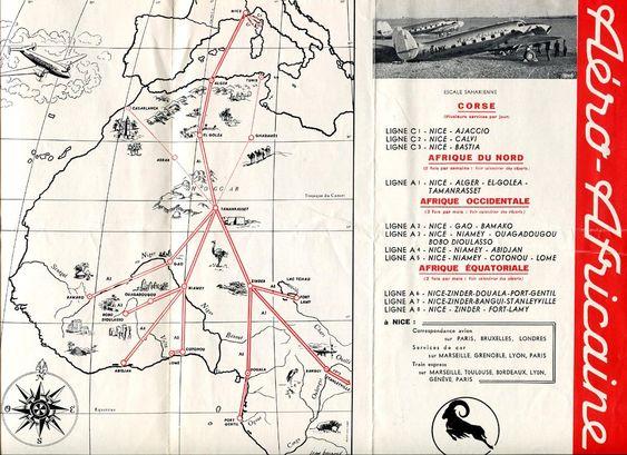 Aero Africaine - SATT - Société Africaine des Transports Tropicaux