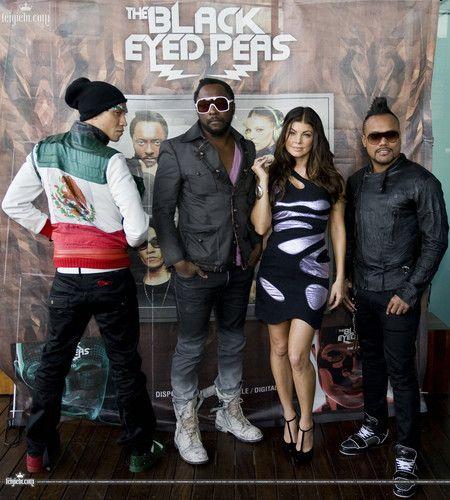 2010 Black Eyed Peas in México City Mexico.