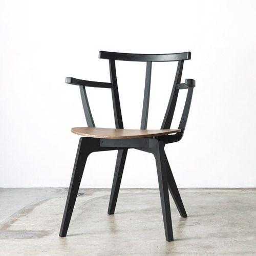 Drill Design Beetle Chair Black