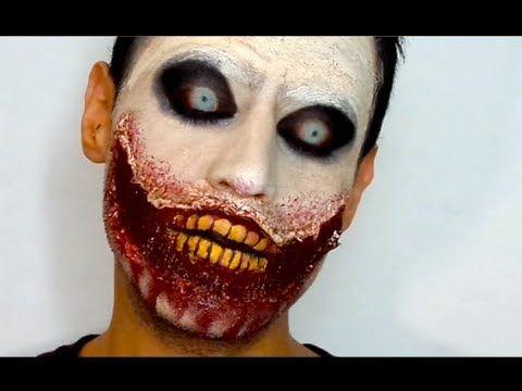 ... maquillaje halloween youtube tutoriales zombis ángel maquillaje