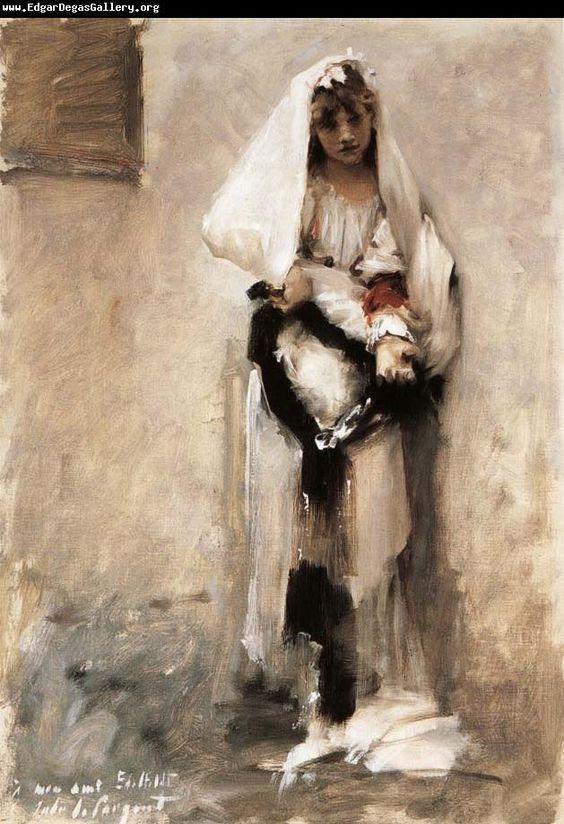 Edgar Degas Museum: A beggarly girl John Singer Sargent