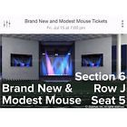 #Ticket  Brand New Modest Mouse Tickets Boston Mansfield Massachusetts Xfinity Center #deals_us