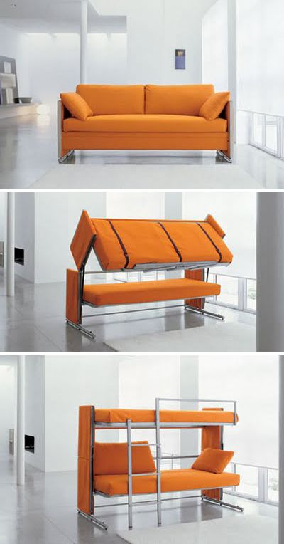 Bunk Bed Transforming Furniture And Beds On Pinterest