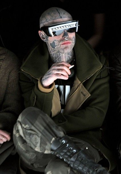 Rick genest can just like...yeah well, yes.