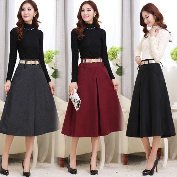 8cf766ba6a faldas de mujer elegantes
