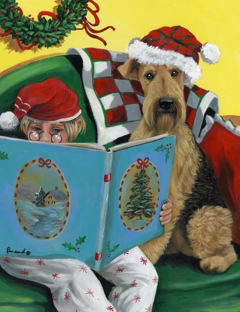 Pin By Audrey Beale On Dogs With Images Airedale Terrier Pet Holiday Christmas Flag