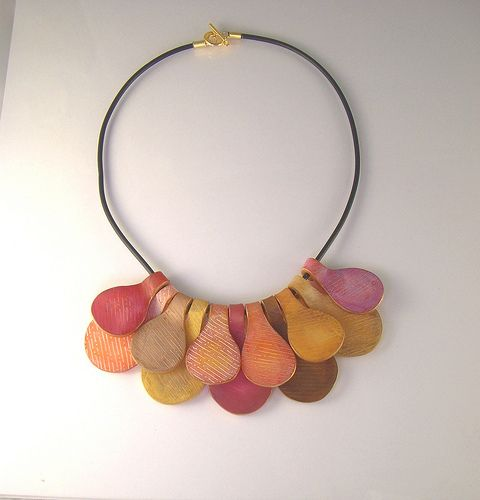 my first etched necklace by Hoedlgut, via Flickr