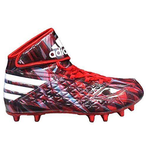 Adidas Men S Freak High Wide 4e Mantra Football Cleats 13 Power Red White Black Aq7117 Adidas Football Cleats Football Cleats Adidas Football