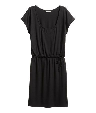 MAMA Stillkleid | Schwarz | Ladies | H&M DE