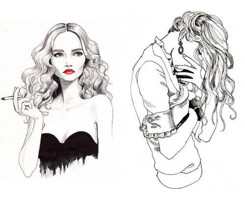 Confira as incríveis ilustrações de Hanna Müller - Fashionatto