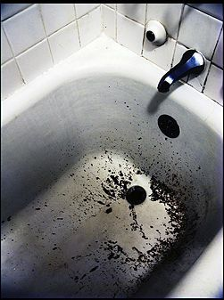 clean tough stains from a bathtub bathtubs stains and
