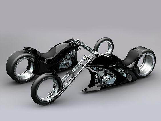 Lamborbike came from a designer, Flavio which inspired by Marcello Gandini, chief designer of Bertone and freelance designer, Osmos wheel and the Lamborghini Countach.
