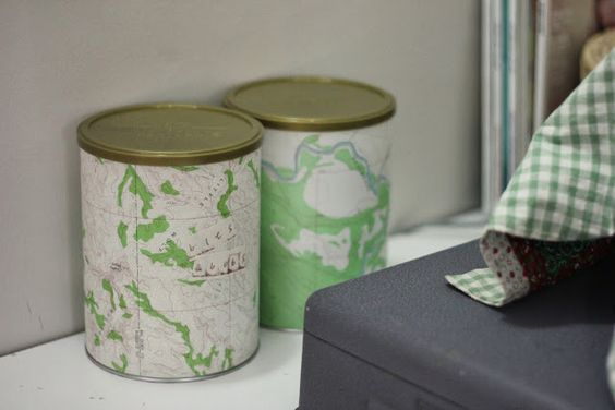 Make. Life. Beautiful.: What to do with milk tins {A tutorial of sorts}