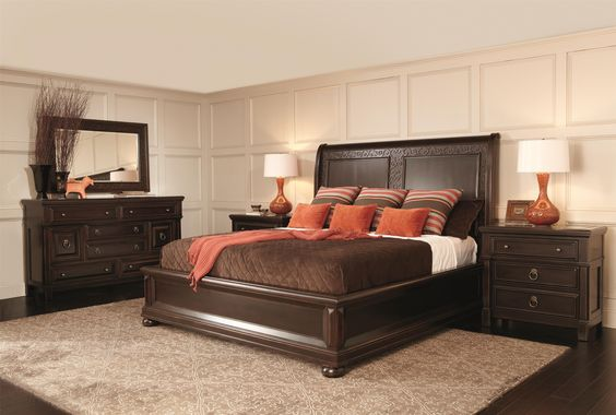 Pacific Canyon Queen Bedroom Group 4 by Bernhardt