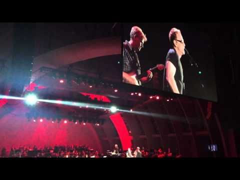 Danny Elfman and Steve Bartek with John Mauceri live at the ...