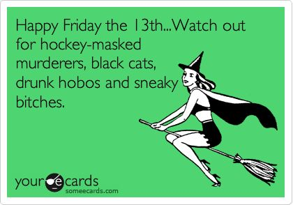 Friday 13th ecards