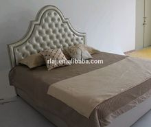 Moderna cama de tejido con elegante diseño para el dormitorio decoración(China (Mainland))