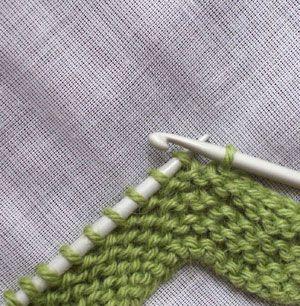 A cours de laine ? Comment rabattre un tricot au crochet, sans utiliser de laine supplémentaire...