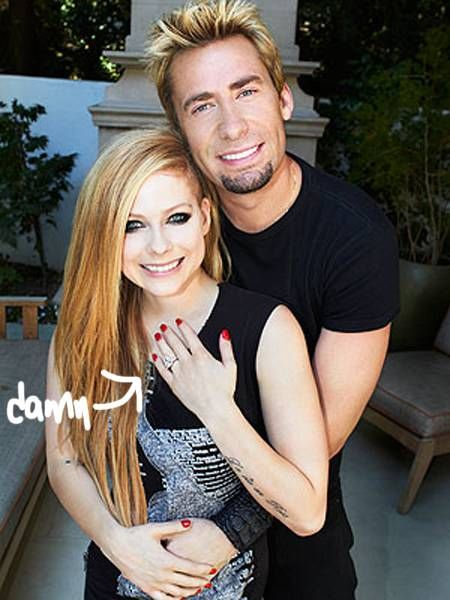 Avril Lavigne and Chad Kroeger engaged :O