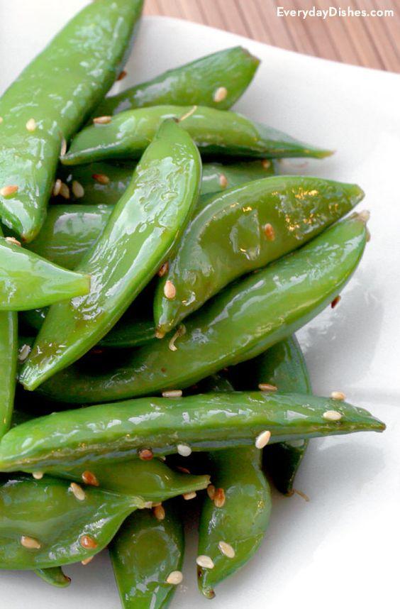 Sugar snap peas, Snap peas and Snap peas recipe on Pinterest