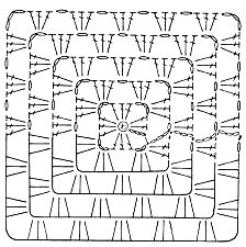 CROCHE: Receita da manta xadrez rosa