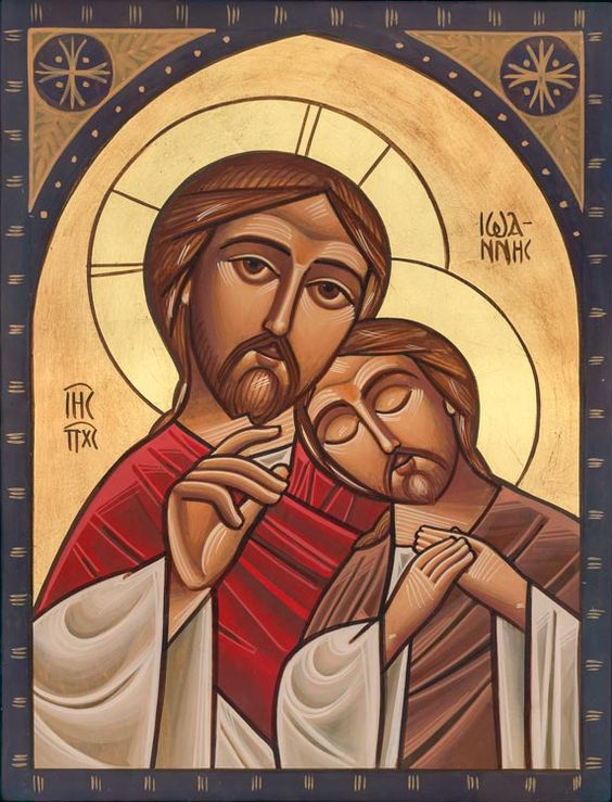 Neo-Coptic Icon Style by Fadi Mikhail Egytian-English (Private Commission Piece):