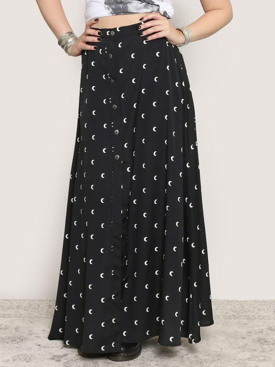 Many Moons Maxi Skirt - Gypsy Warrior
