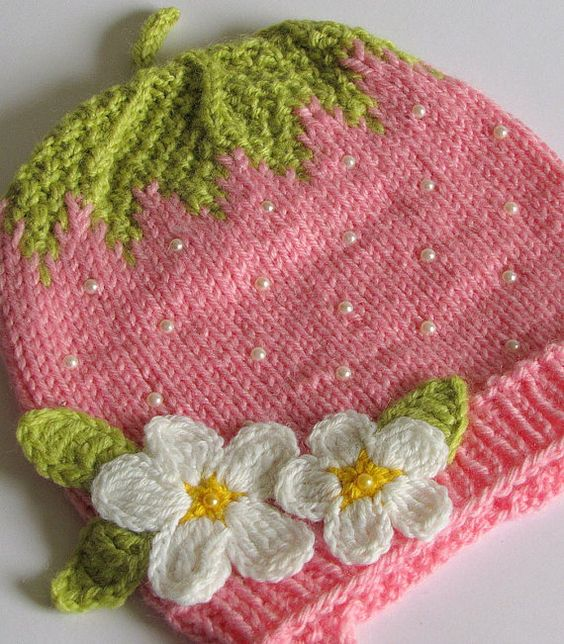 Knitting Pattern For Strawberry Hat : Pinterest   The world s catalog of ideas