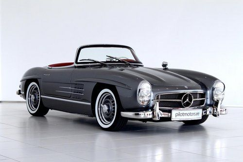 1963 Mercedes Benz 300sl Roadster With Images Mercedes Benz