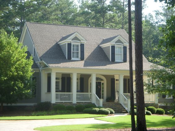 House Plans Porches And Medium On Pinterest