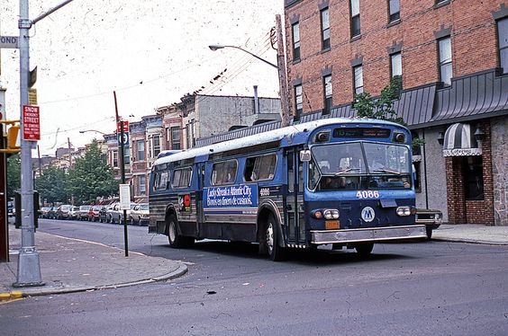 Back to the Eighties: the B58 Bus approaching Fresh Pond Road, Ridgewood, Queens. | Flickr - Photo Sharing!