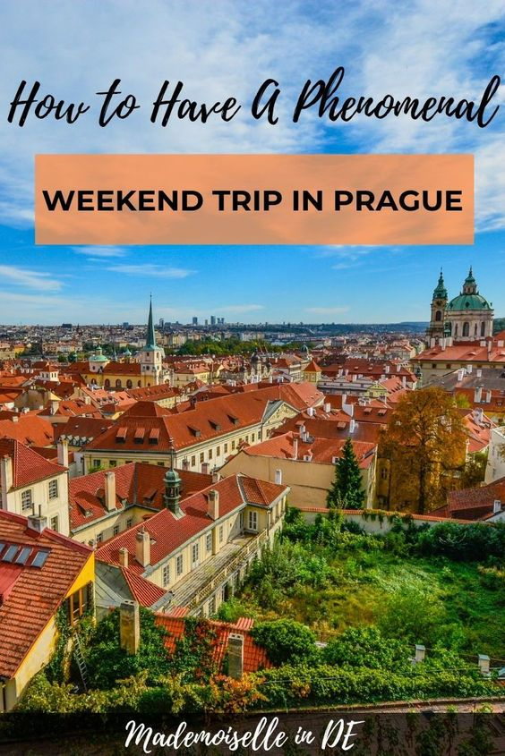 weekend trip in Prague from Germany