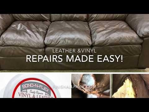 Bond N Flex Kit Leather Vinyl Repair Heirloom Traditions All In One Paint Vinyl Repair Leather Couch Repair Leather Repair