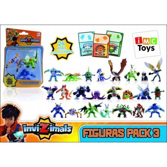 Juguete INVIZIMALS FIGURAS PACK de 3 Precio 12,87€ en IguMagazine #juguetesbaratos