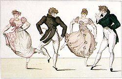 Quadrille (danse) — Wikipédia
