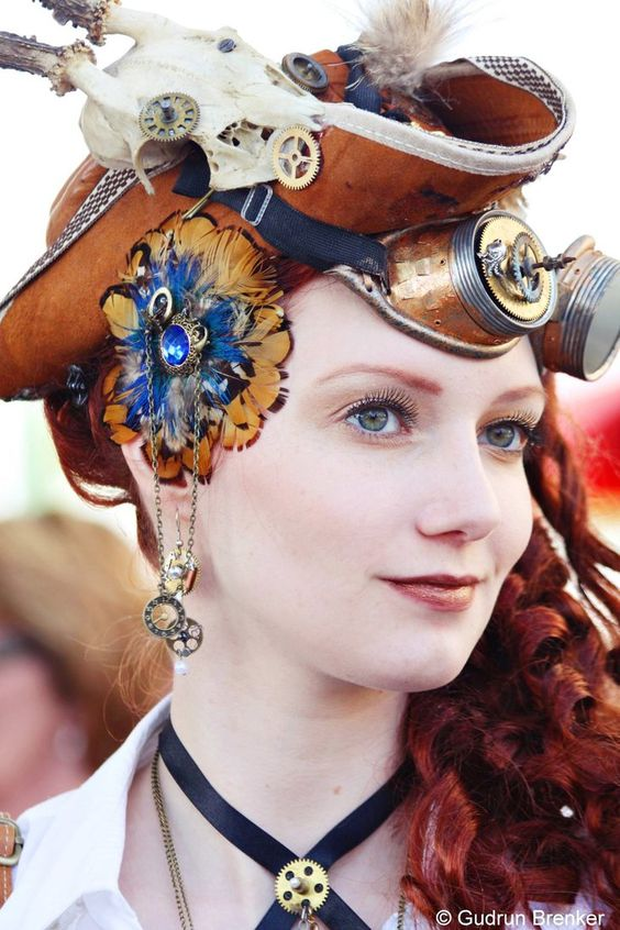 Steampunk Girl 2014 by KatiaInsomnia