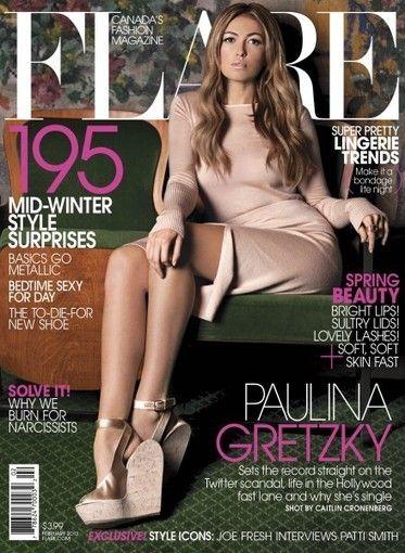 Paulina Gretzky Profiled in Canadian Fashion Magazine, Music and ...