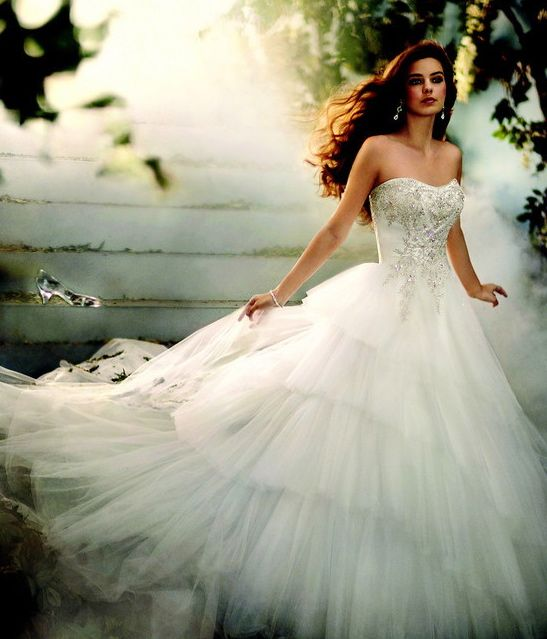 Cinderella Wedding Dresses 2017 : Cinderella wedding dress absolutly stunning i think
