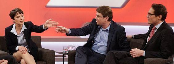 Umgang mit der AfD: Das Scheitern der Talk-Republik - Maischberger-Talk: Alle reden zurzeit dauernd und ausschließlich mit der AfD