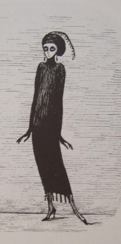 Edward Gorey. What an artist.