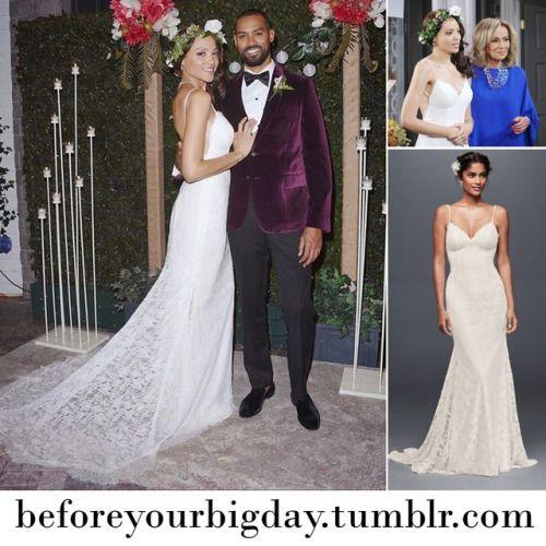 Wedding Gown Colored Celebrity Wedding Gown Panosundaki Pin